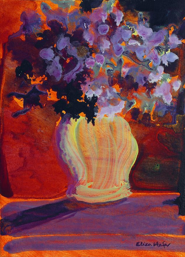 """Creamy Vase"" - Eliza Hafer"