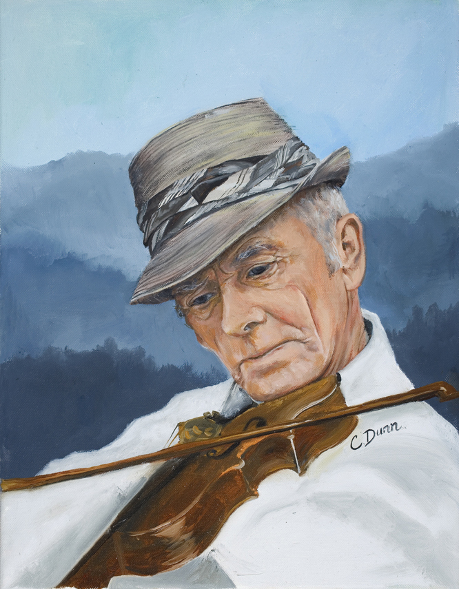 """Fiddler"" by Cristy Dunn"