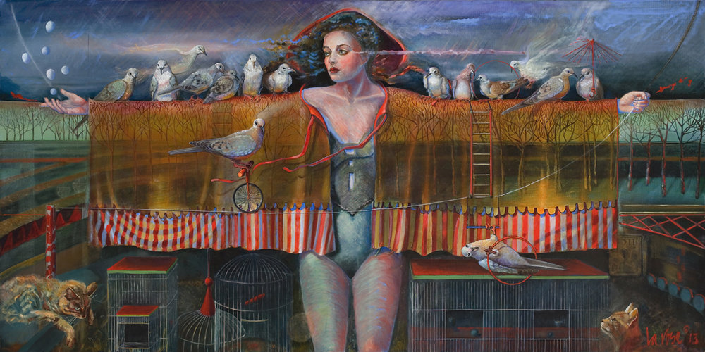 """""""Franny's Flying Circus"""" - Diane LaRose"""