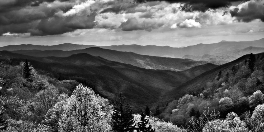 """Great Smoky Mountains Overlook II"" - John Dickson"
