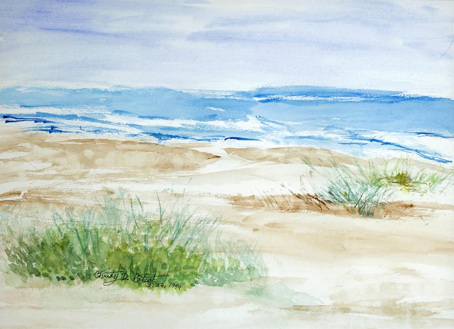 """Ocean Isle Beach"" - Christy Poteat"