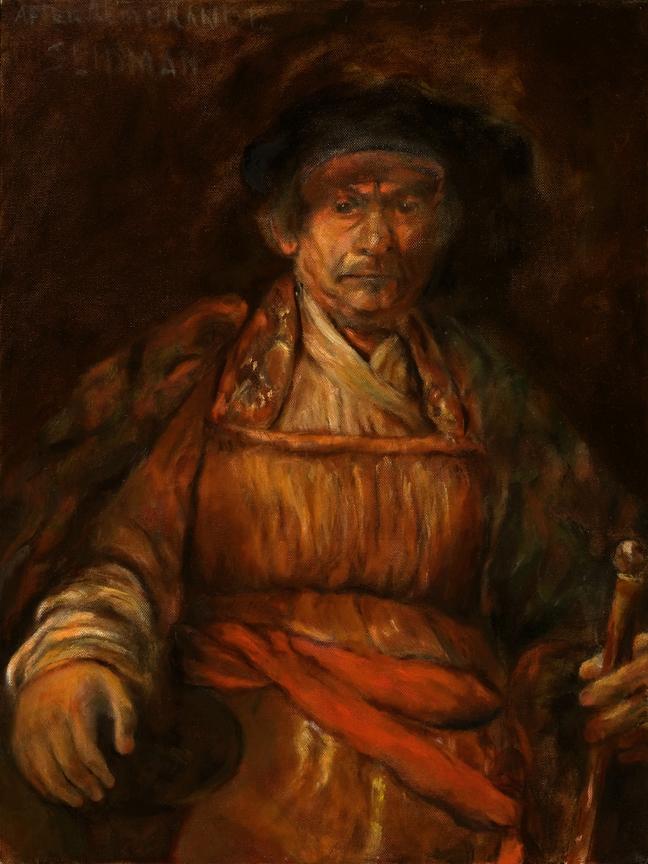 """Rembrandt Study"" - Bill Seidman"