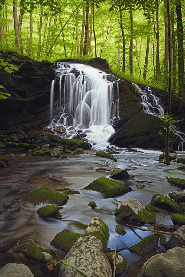 """Secret Waterfall"" - John McKinney"