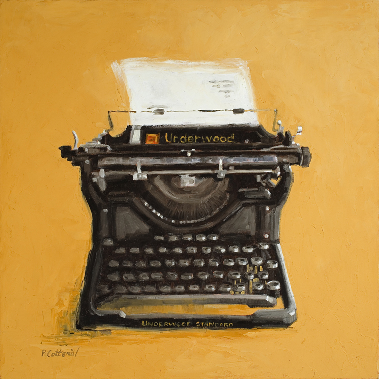 """Underwood Typewriter"" - Pat Cotterill"