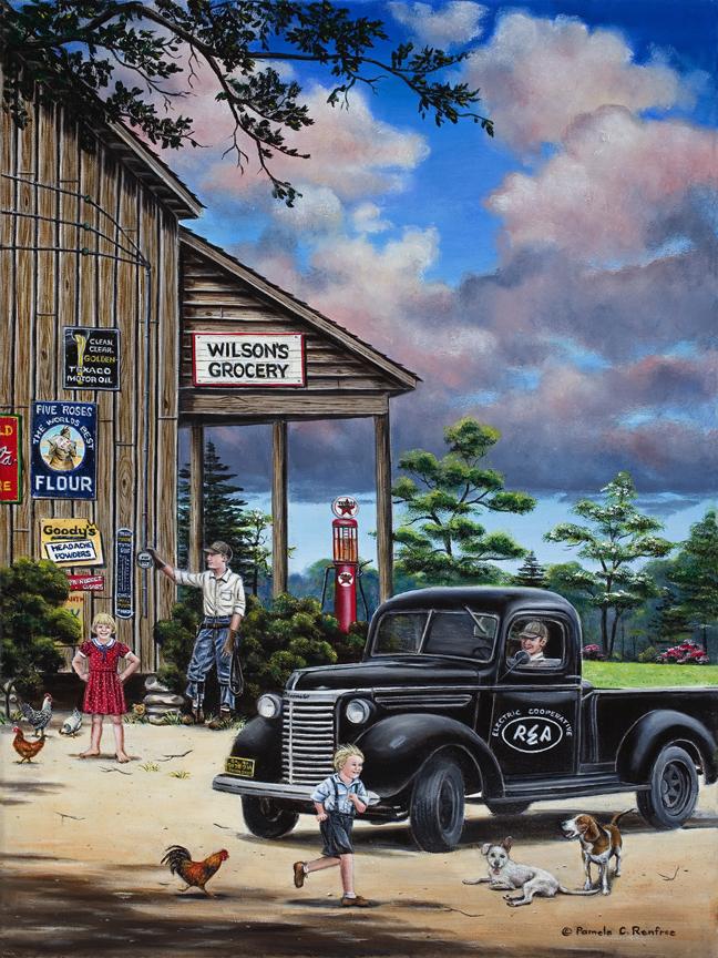 """Wilsons Grocery"" - Pamela Renfroe"