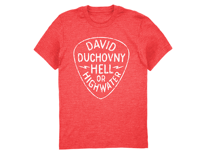 David Duchovny Red Ladies Tee .png