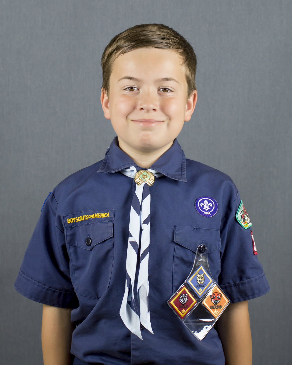 Boy Scout Headshot Photo