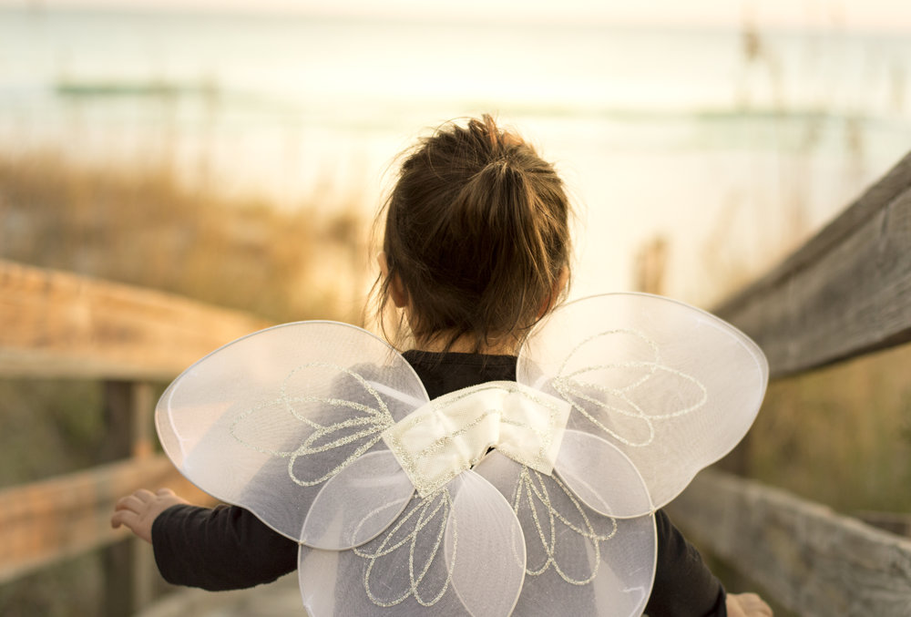Little Fairy on the Beach Portrait
