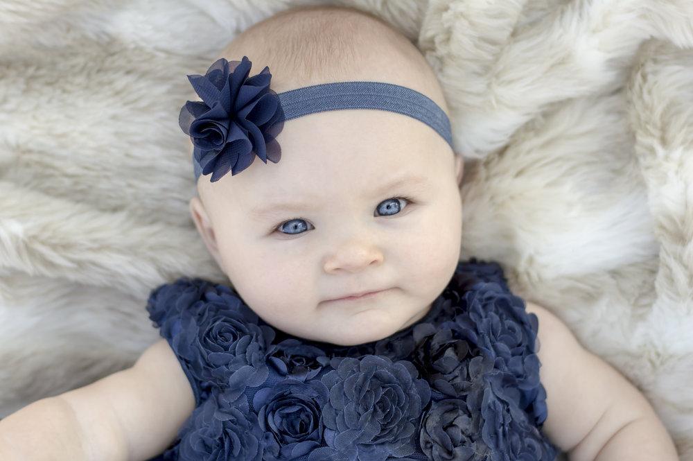 Baby Girl Photo Outside