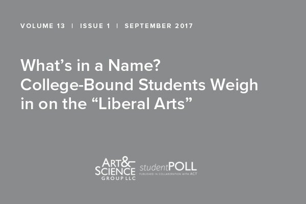 College Bound Students Weigh In On The Liberal Arts