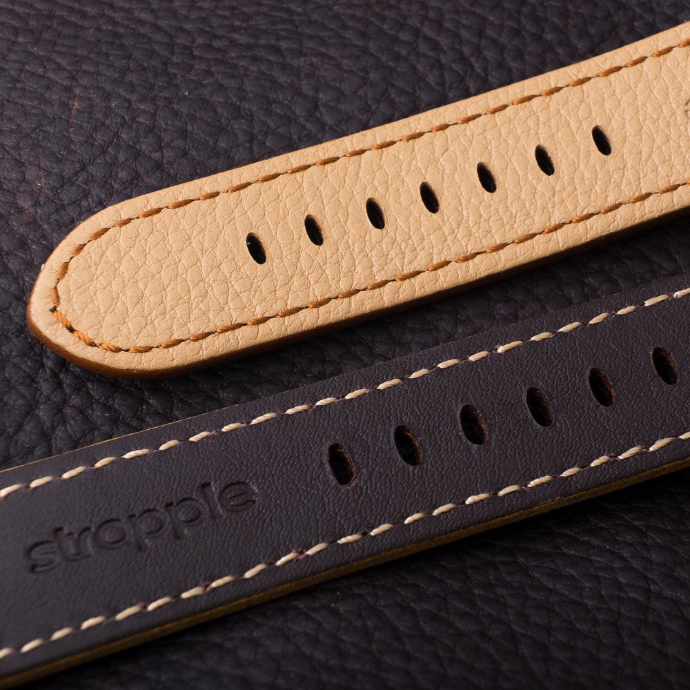 Strapple Leather band stiching