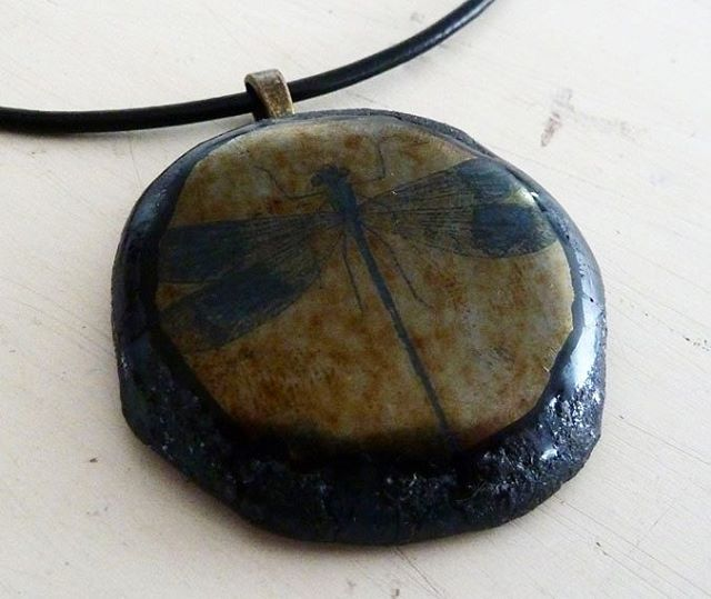 Making more dragonfly jewellery this week.  #glass #fusedglass #glassjewellery #dragonfly #blackglass #dragonflypendant #jewellery #crafts #hampshire #romsey