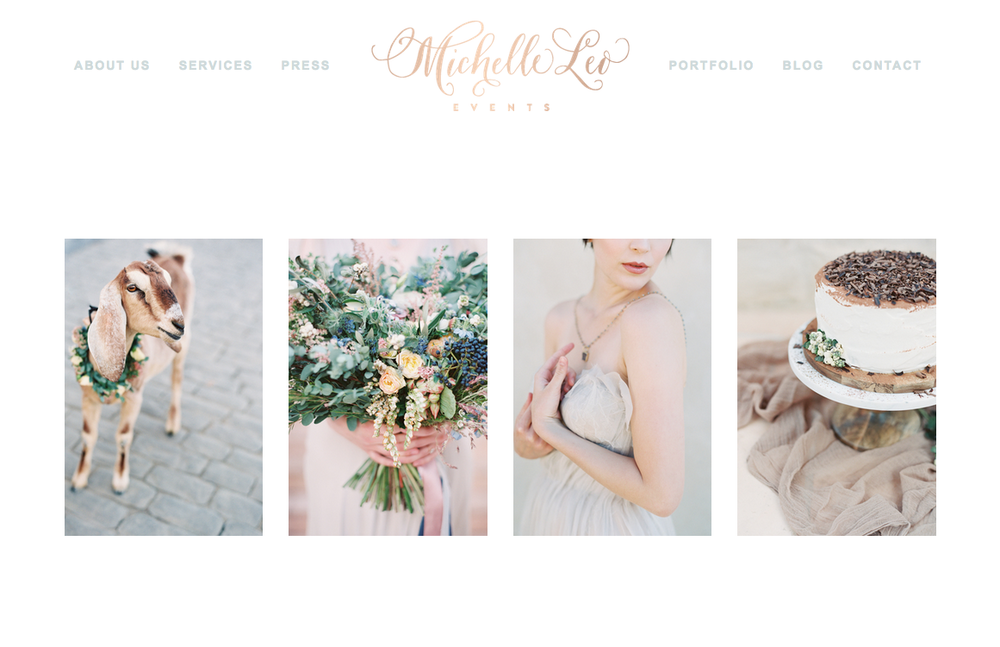 Logo | Michelle Leo Events