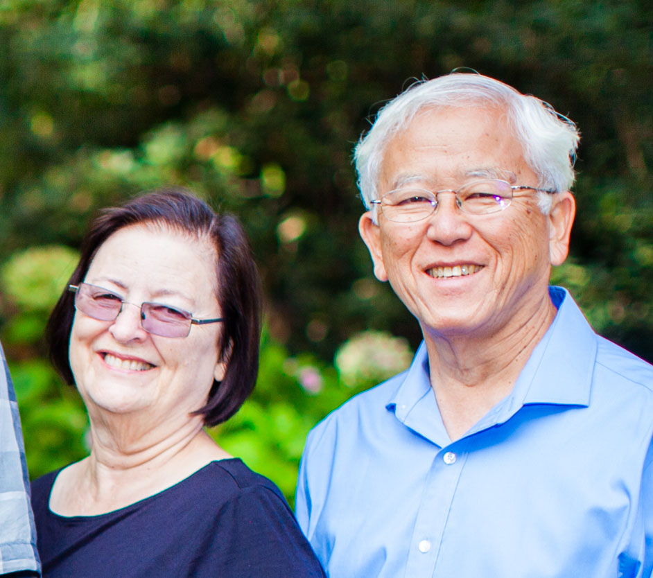George and Will Tanabe make their home on the Oahu countryside, outside of Honolulu.