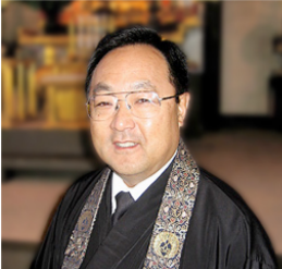 Rev. Marvin Harada  of Orange County Buddhist Church, and supervising Minister of Vista Buddhist Temple