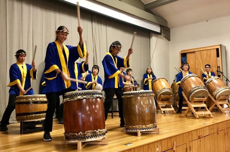 Our Amazing Taiko Group Entertained Us at the 2019 New Year's Party