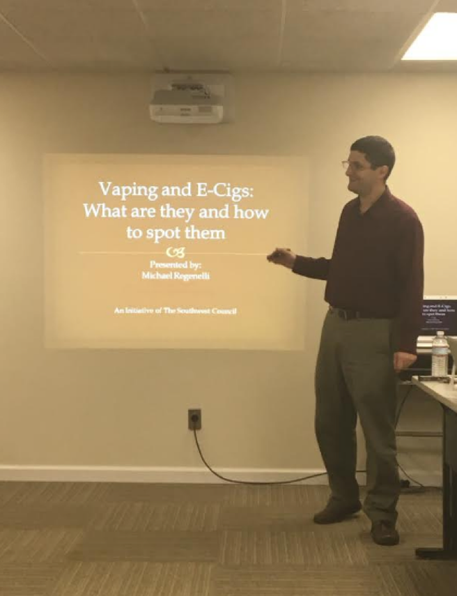 Initiative aimed to equip educators and parents with knowledge about vaping and the ability to identify both the devices themselves and signs that youth may be using them.