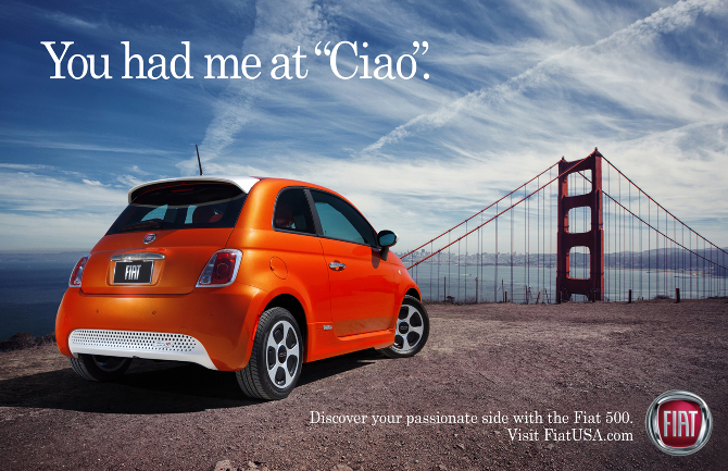 "You had me at ""ciao""."