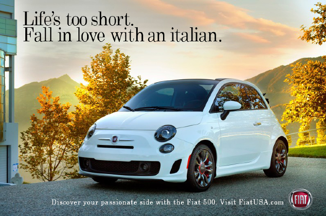 Life's too short. Fall in love with an Italian.