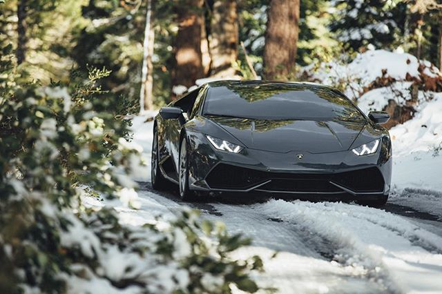 #ActivHuracan during winter, front lift up season www.activfilms.tv | #stayactiv  #lamborghini #huracan #snowplow