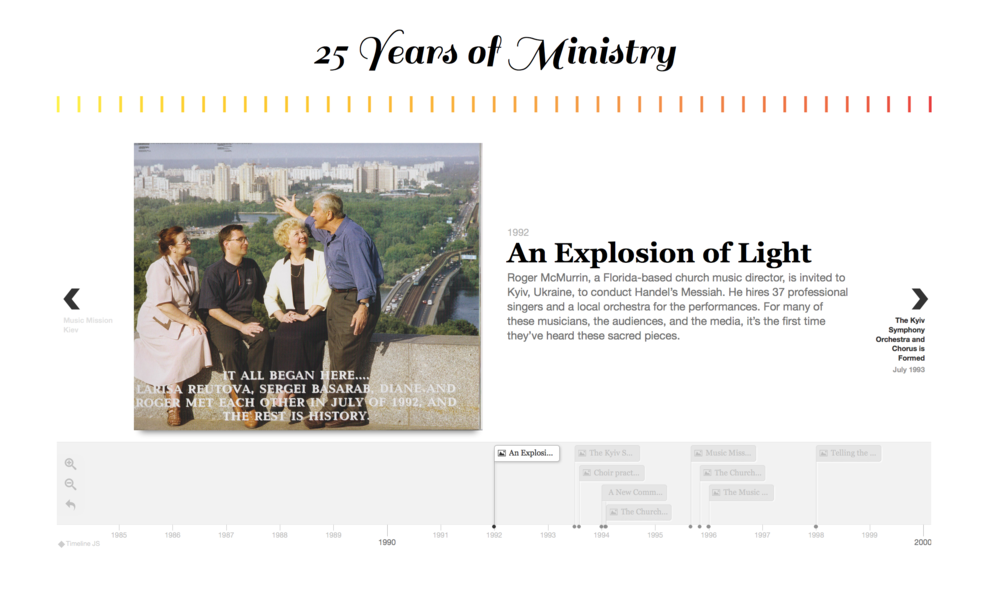 WEBSITE REDESIGN, MINISTRY REBRAND