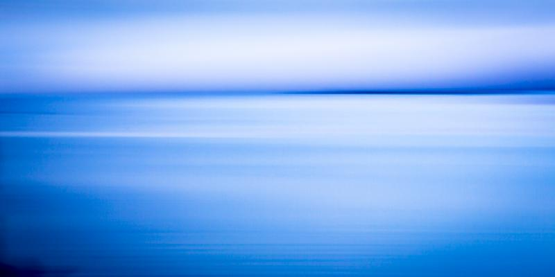 Bay in Blue