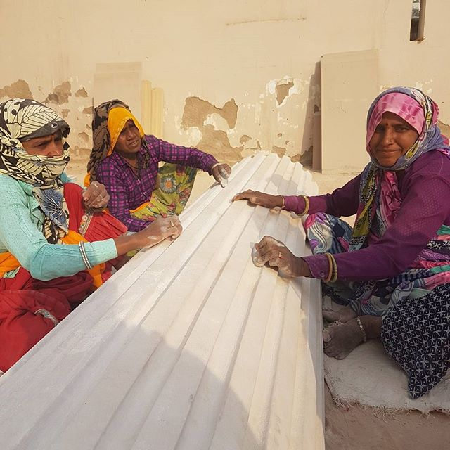 Stone Cluster #textilesfieldtrip #artisansjaipur #textilesresearch