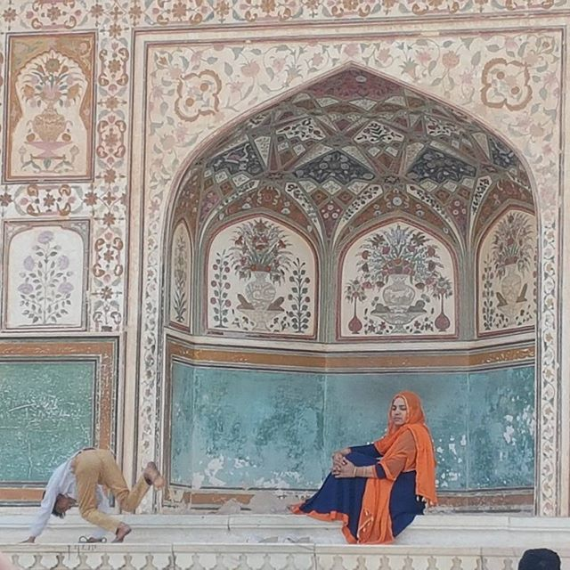 Amber Fort. Contrasts