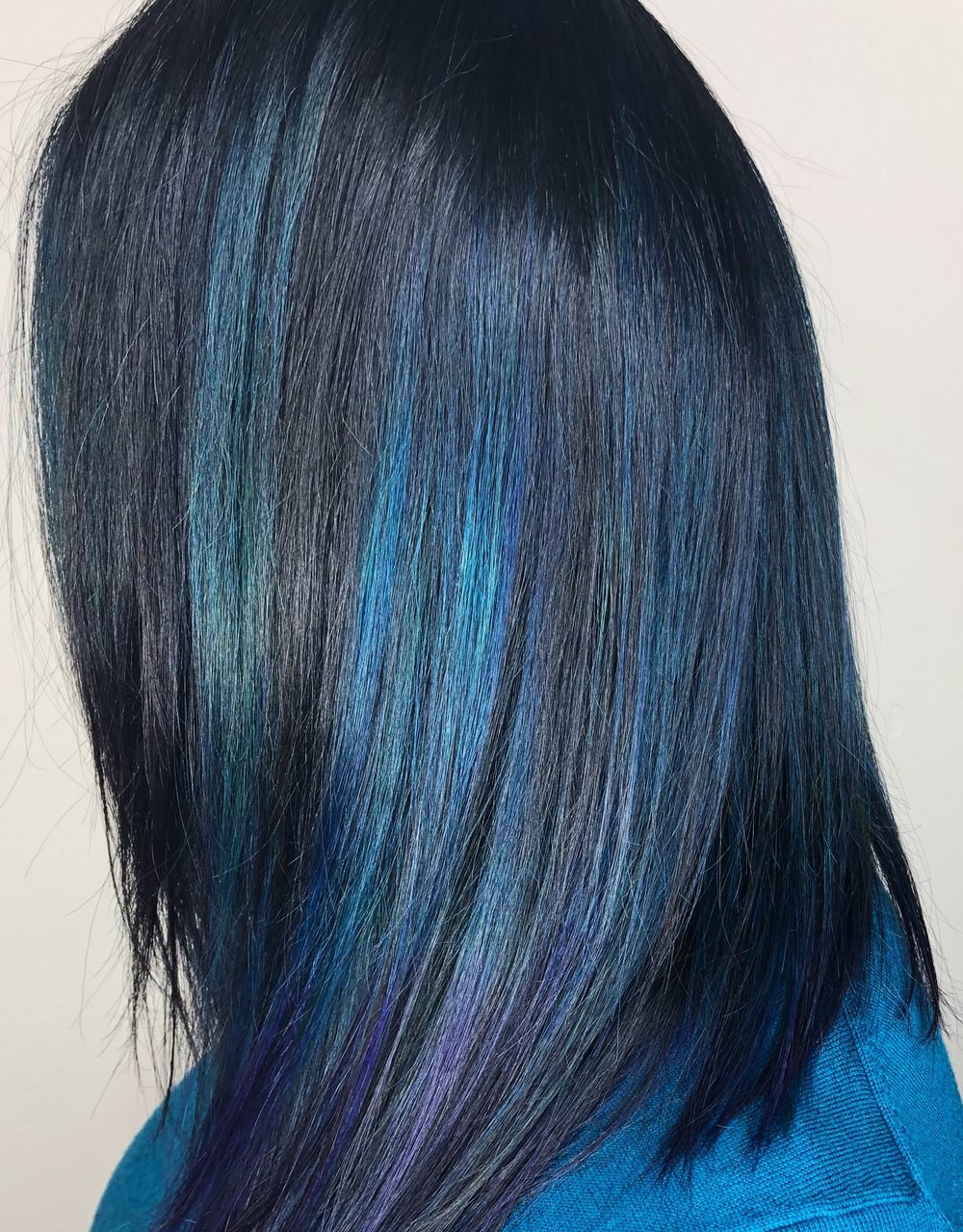 Blue highlights on a client   Schedule Here