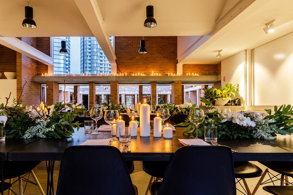 Gauge Restaurant Long Table Dinner Corporate Function