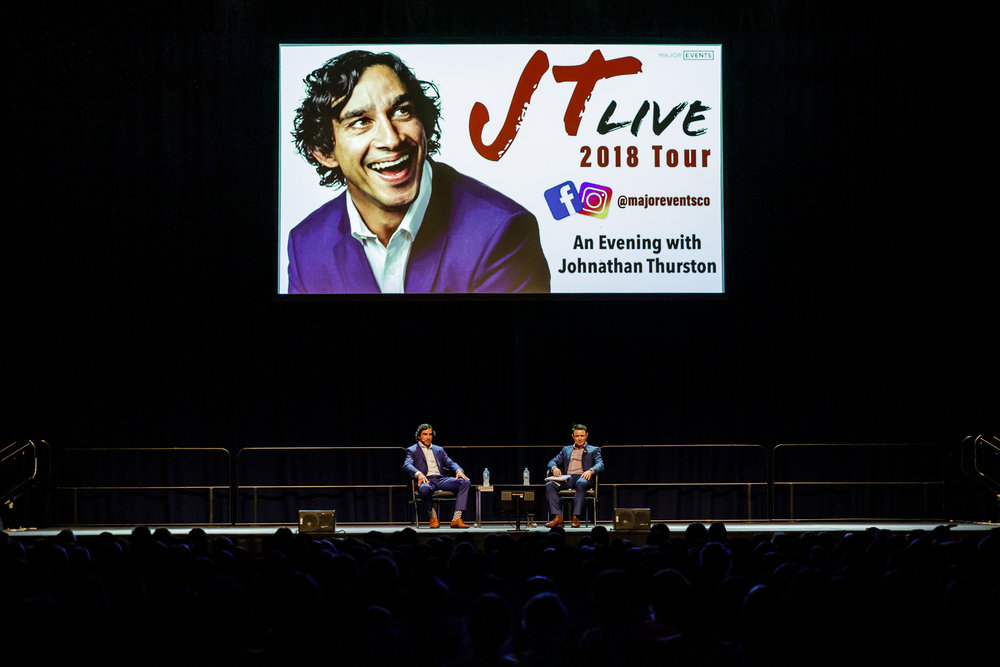 BCEC An Evening with Johnathan Thurston