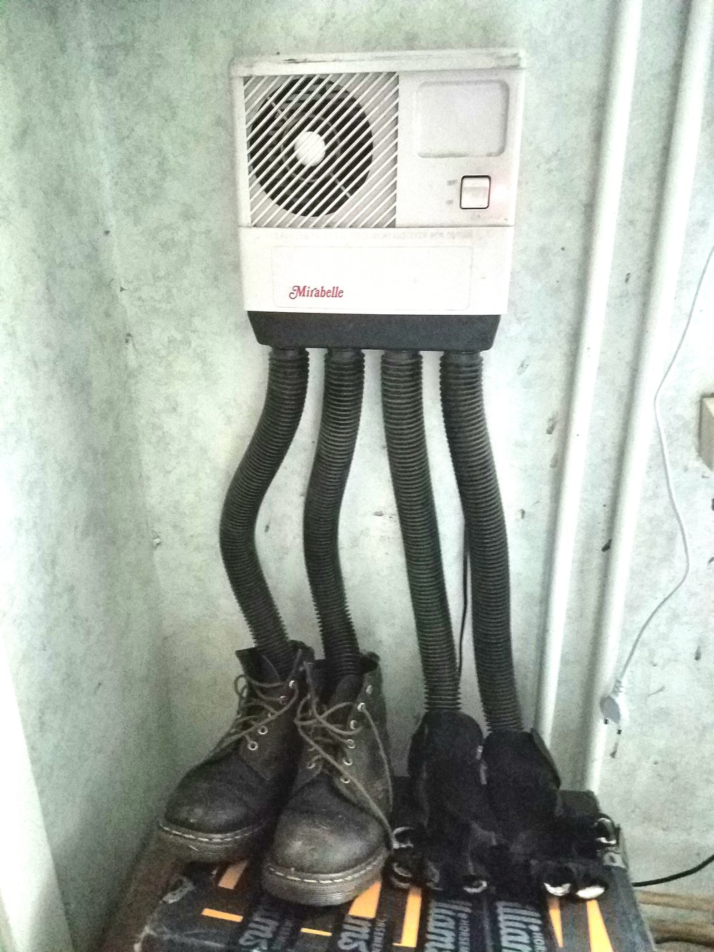 Clever Swedish boot dryer