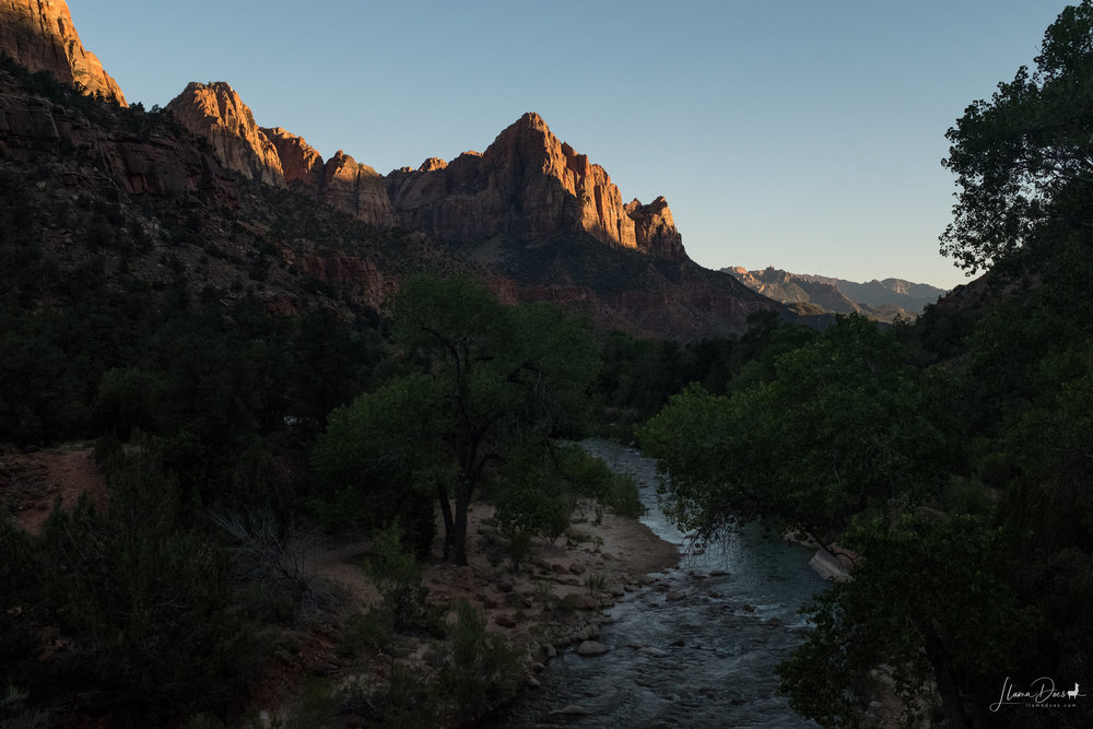 Sunset at the Watchman