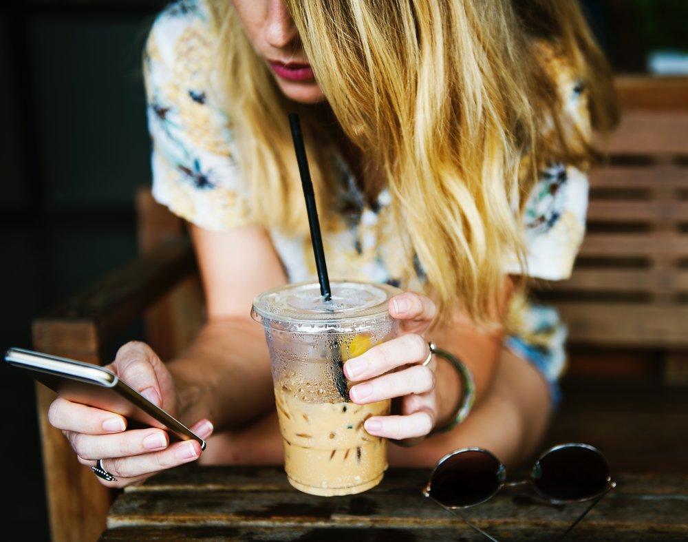 texting in West LA