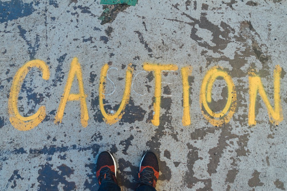 Caution in West Los Angeles