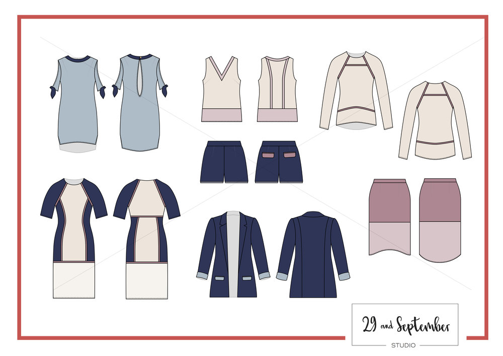 How to start a fashion label package