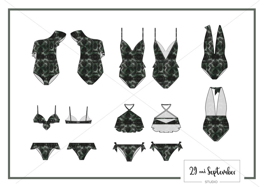 Print and swimwear design by 29andSeptember Studio