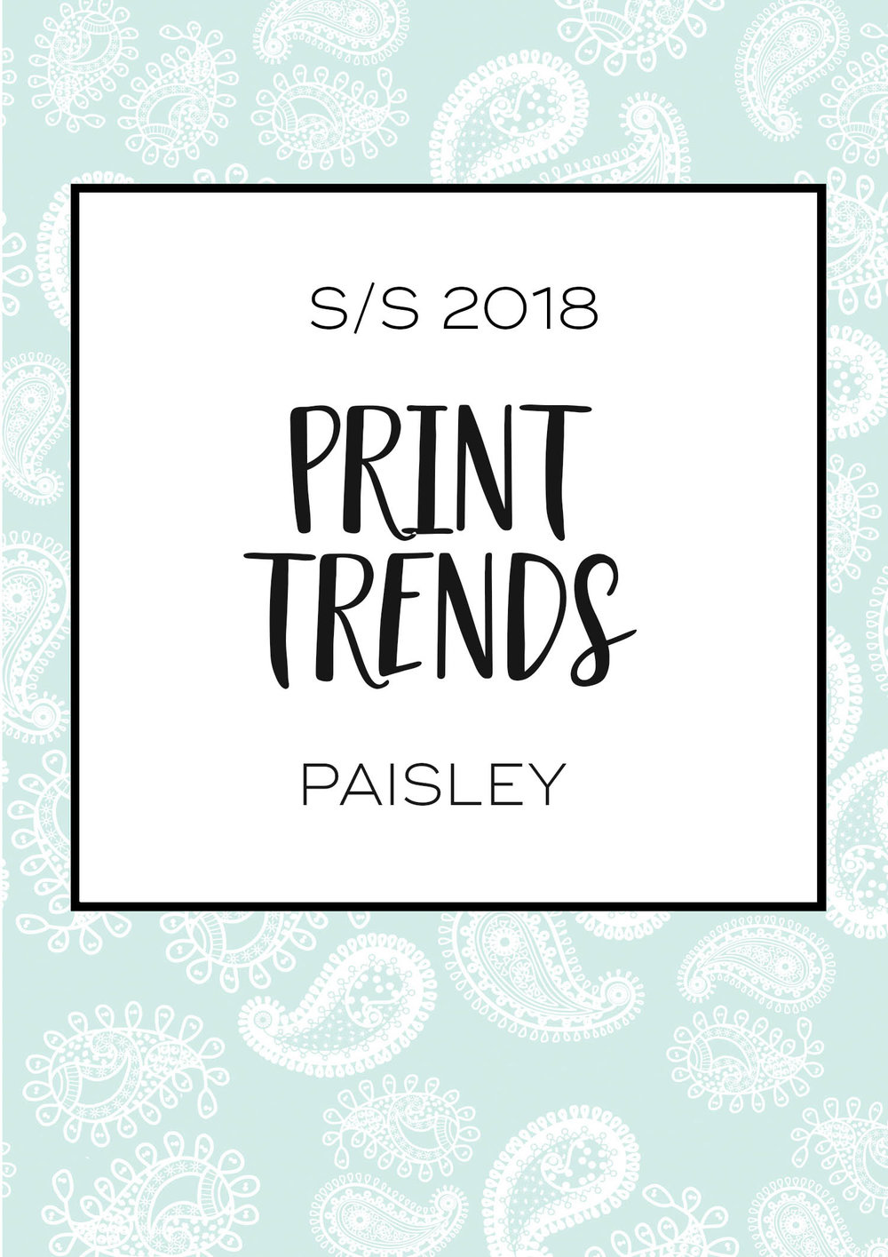 Print design trends; Paisley | How I created my Paisley print by 29andSeptember Studio