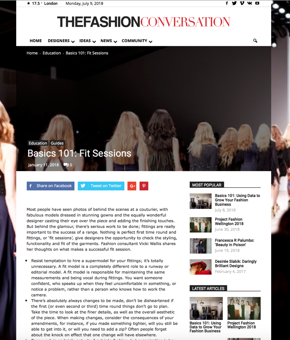 29andSeptember Studio feature on The Fashion Conversation