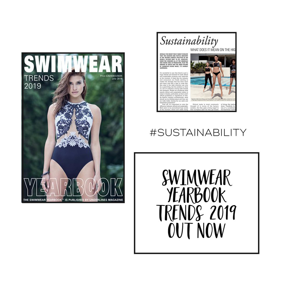 Sustainability in the swimwear design industry | 29andSeptember article in Swimwear Yearbook 2019