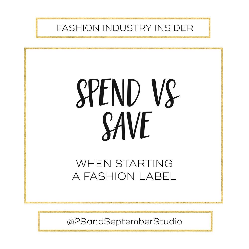 Spend vs Save