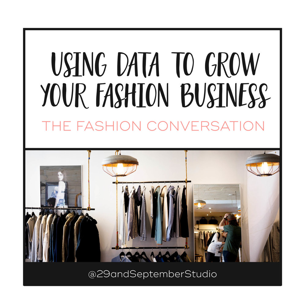 Basics 101: Using Data to Grow Your Fashion Business - feature on The Fashion Conversation