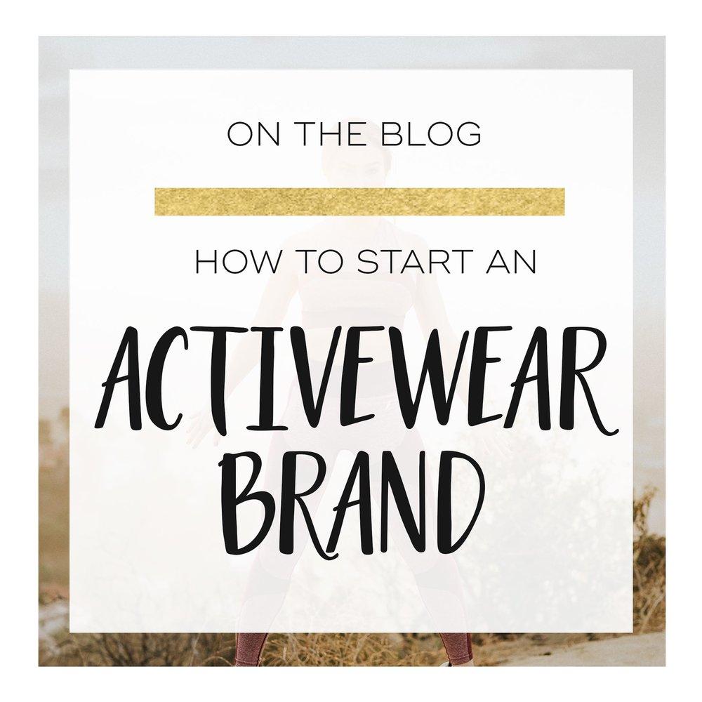 Start an Activewear Brand