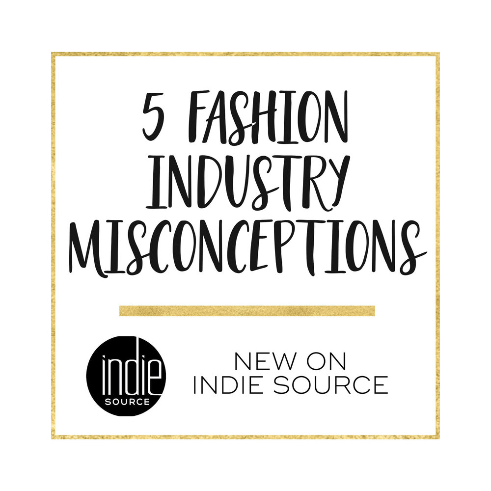 Fashion Misconceptions