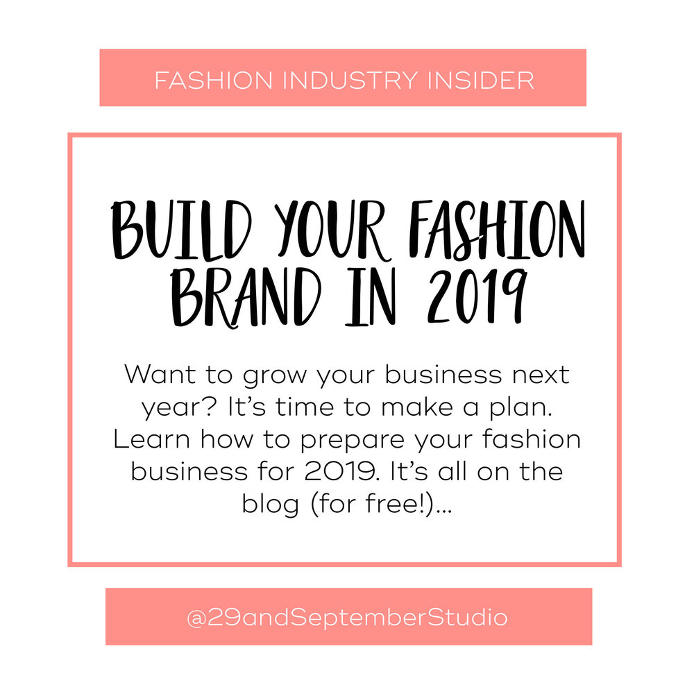 Grow your fashion brand