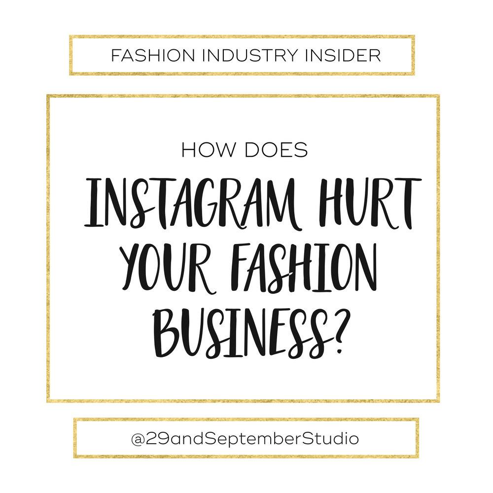 Instagram for Fashion