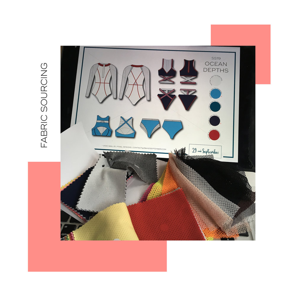 Fabric sourcing - contact me