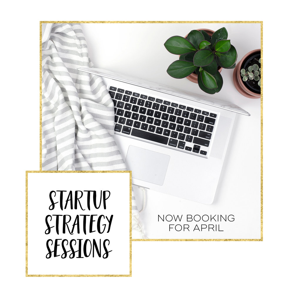 Startup Strategy Sessions