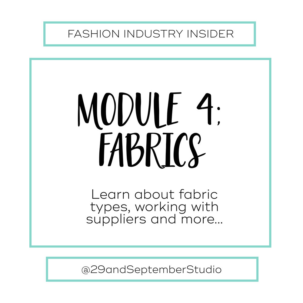 Learn About Fabrics