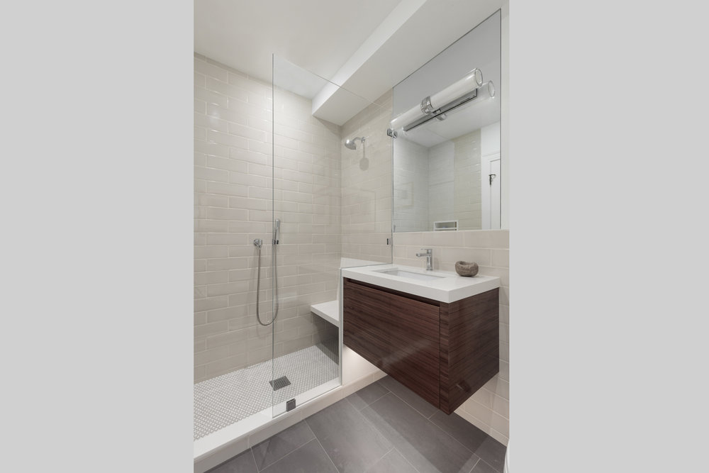 DESIGN415 | San Francisco Pacific Heights Guest Bathroom Remodel